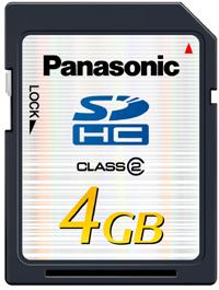 Panasonic Tarjeta SDHC Informática Hogar Digital