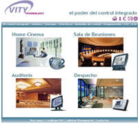 Home Systems Vity Web Domotica Hogar Digital