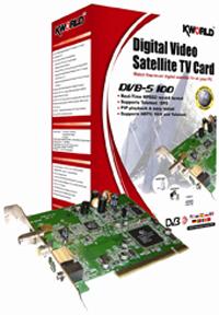 KWorld Computer Tarjeta Television Digital Satelite Hogar Digital