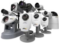Axis Camara IP 10 años Seguridad