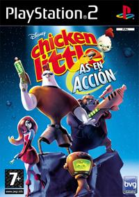 Chicken Little: As en Acción, de Disney Para PlayStation2 Hogar Digital