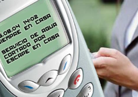 Móvil SMS Alarma Técnica  eNeo Digital Resort Hogar Digital Domótica Seguridad