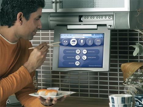 Pantalla Cocina Icebox  eNeo Digital Resort Hogar Digital Domótica Seguridad