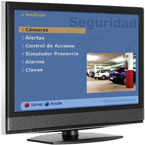 Videovigilancia Seguridad  eNeo Digital Resort Hogar Digital Domótica Seguridad