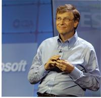 CES International 2007 Microsoft Bill Gates