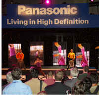 Panasonic Living High Definition CES International 2007