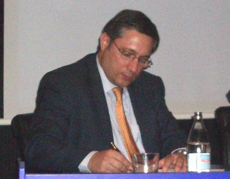 Juan Ramon Sanchez Foro MINT 2007 Telecomunicaciónes Infraestructuras Hogar Digital