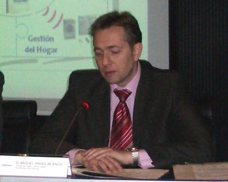 Miguel Angel Blanco Foro MINT 2007 Telecomunicaciónes Infraestructuras Hogar Digital