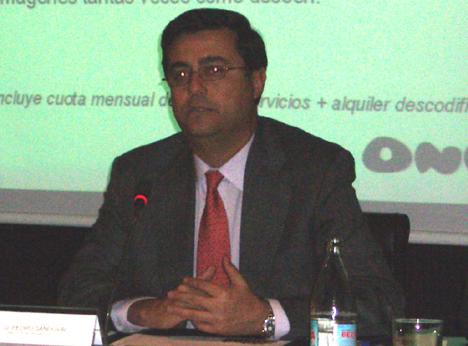 Pedro Sandoval Foro MINT 2007 Telecomunicaciónes Infraestructuras Hogar Digital