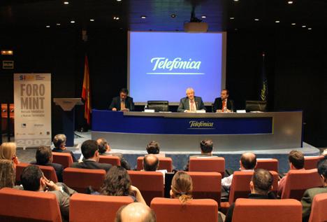 Foro MINT 2007 Telecomunicaciónes Infraestructuras Hogar Digital