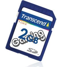 Transcend Tarjeta SD-Gaming