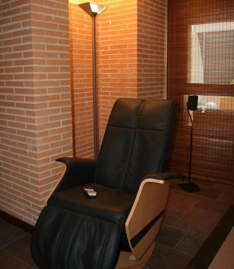 Sillón de Masaje INMOMATICA Supercasas Domux Hogar Digital Domotica Seguridad Cine en Casa