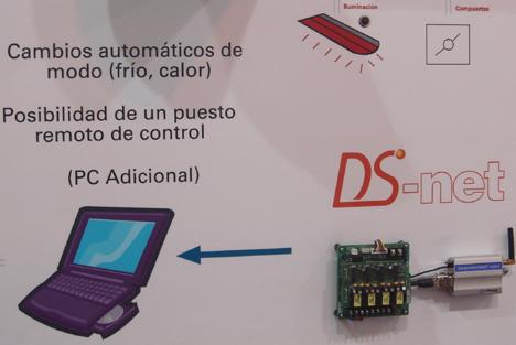 Daikin DS-net Feria Climatización Confort Ahorro Energético Hogar Digital