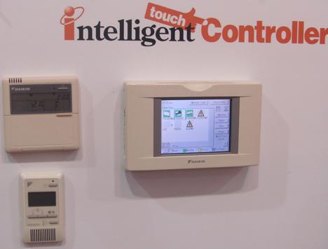 Daikin Intelligent Touch Controler Feria Climatización Confort Ahorro Energético Hogar Digital