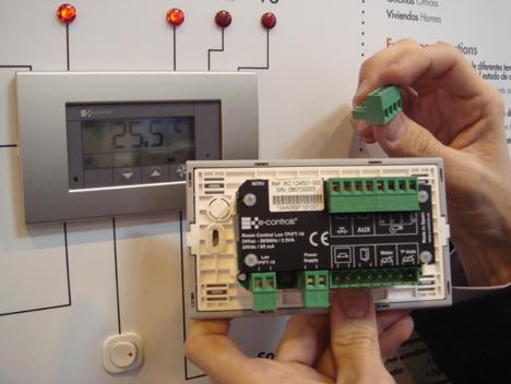 e-controls e-room Feria Climatización Confort Ahorro Energético Hogar Digital