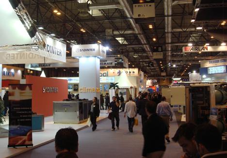 Interior Feria Climatización Confort Ahorro Energético Hogar Digital
