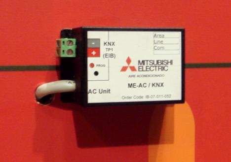 Mitsubishi KNX/EIB Feria Climatización Confort Ahorro Energético Hogar Digital