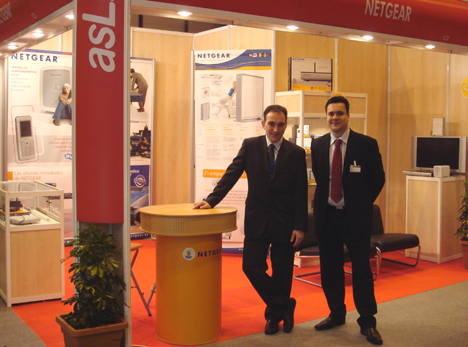 Netgear Stand SITI/asLAN Storage Forum 2007