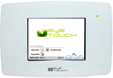 Pantalla eyeTOUCH Home Systems Ingelabs Domótica