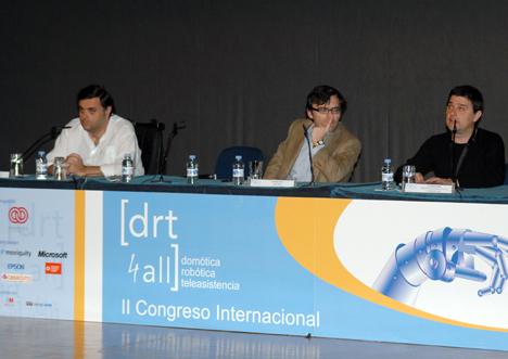 Clausura DRT4ALL II Congreso Internacional sobre Domótica, Robótica y Teleasistencia para Todos