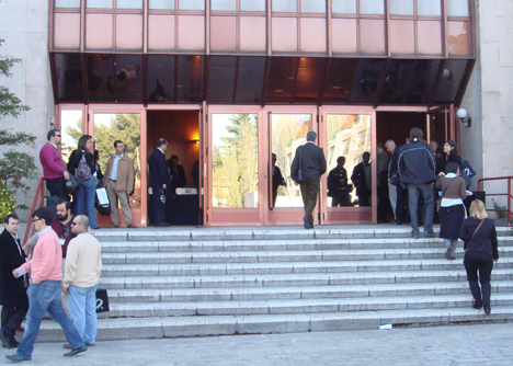 Exterior DRT4ALL II Congreso Internacional sobre Domótica, Robótica y Teleasistencia para Todos