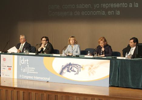 Inaguración DRT4ALL II Congreso Internacional sobre Domótica, Robótica y Teleasistencia para Todos