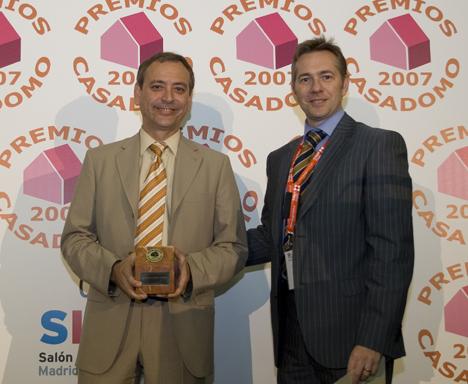 Premios CASADOMO 2007 Hogar Digital IP Domo