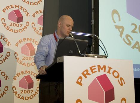 Premios CASADOMO 2007 Hogar Digital Stefan Junestrand