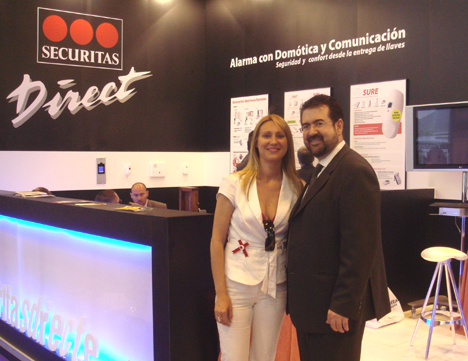 Securitas Direct Stand SIMA 2007 Salón Inmobiliario de Madrid