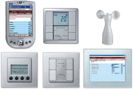 Interfaces KNX Konnex Merten Schneider Electric