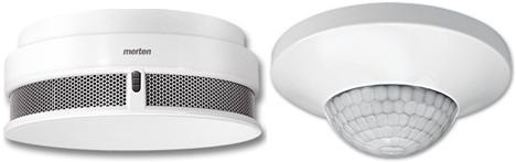 Sensores KNX Konnex Merten Schneider Electric