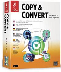 Caja Roxio Copy & Convert