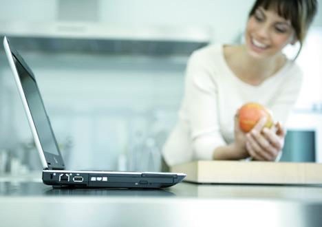Laptop Cocina Hogar Digital Fujitsu Siemens Computers