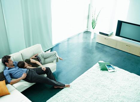 Salón Sofá TV Hogar Digital Fujitsu Siemens Computers