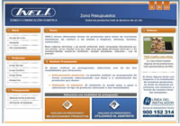 Página WEB de Presupuestos on-line de INELI