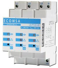 Protección Sobretension ECOMSA