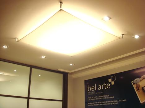 Iluminación Años Luz Piso Piloto Promoción bel arte UTRIR e INMOMATICA