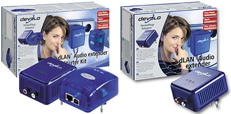 Cajas dLAN Audio Extender