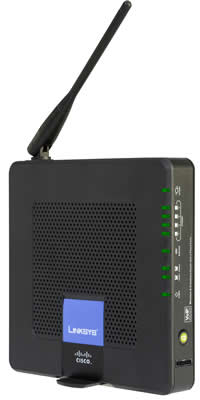 Router WRP400 Triple-Play Linksys