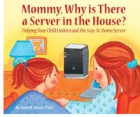 """Libro infantil sobre Windows Home Server denominado """"Mamá, por qué hay un servidor en casa?"""""""