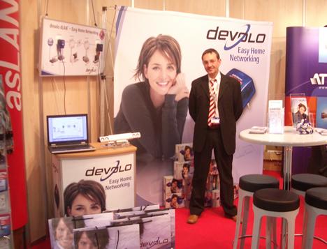 Stand devolo SITI/asLAN 2008