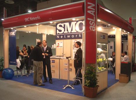Stand SMC SITI/asLAN 2008
