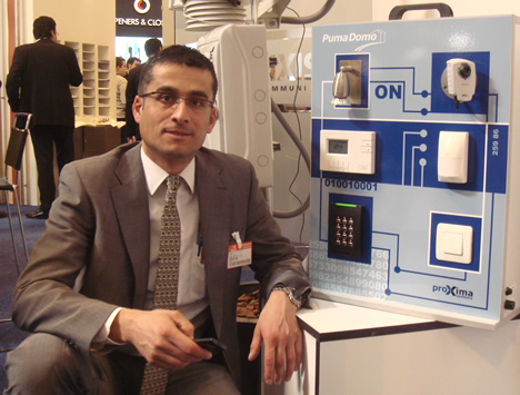 Proxima Systems Stand Axis SICUR 2008