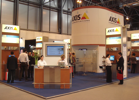Stand Axis SICUR 2008