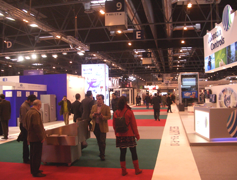 Interior SICUR 2008