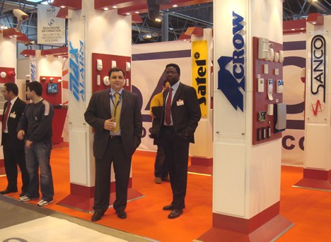 Stand Sanco SICUR 2008