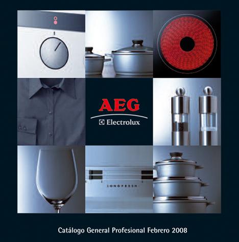 Catalógo AEG 2008