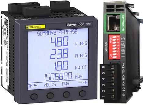 PowerLogic® PM800 Merlin Gerin de Schneider Electric
