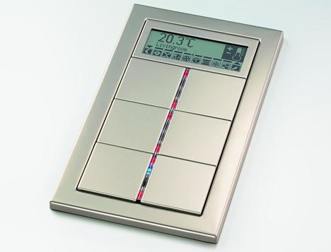 Pulsador Serie FD Design KNX Jung
