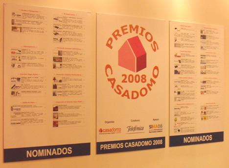 Certeles Premios CASADOMO 2008 SIMA y SIMAfutura 2008